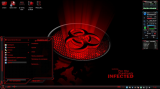 Tema para Windows 7 Theme HUD RED Premium (2011) PC