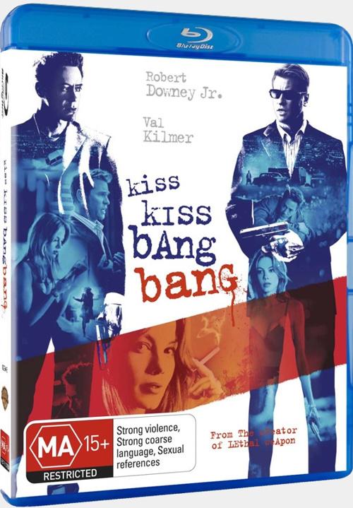Поцелуй навылет / Kiss Kiss Bang Bang (2005) BDRip 720p