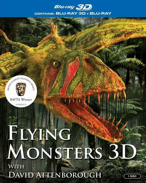 Крылатые монстры / Flying Monsters 3D with David Attenborough 3D (2011) BDRip 1080p